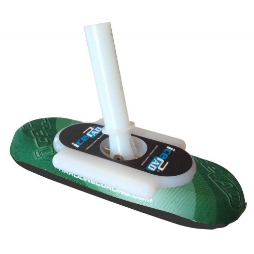 Complete Broom Handle And Icepad Grassroots Curling